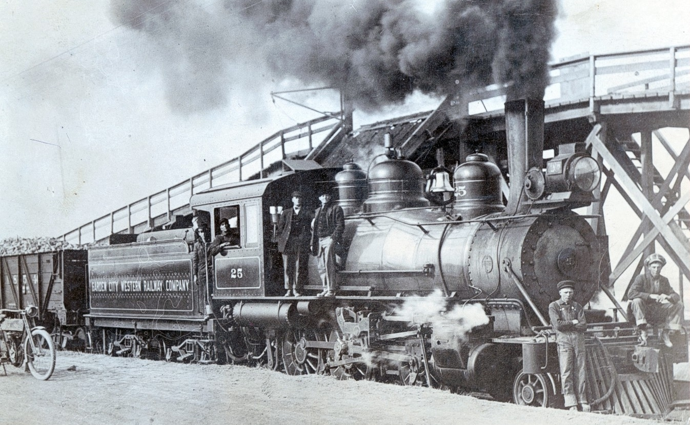 Garden City Western Railway 100th Birthday Party Sept. 10 at Museum