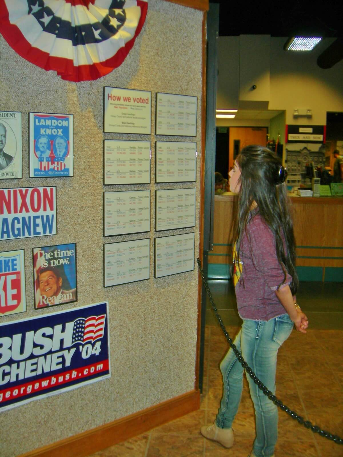 """Presidential Preferences"" Election Exhibit Open at Finney County Museum"