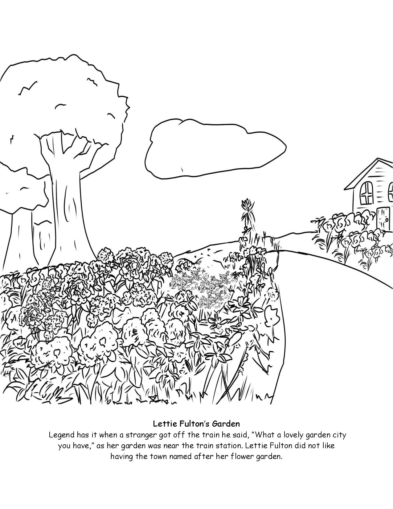 Lettie Fulton Coloring Page