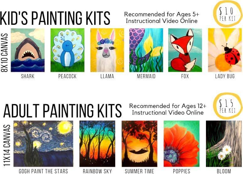 garden city art kit examples