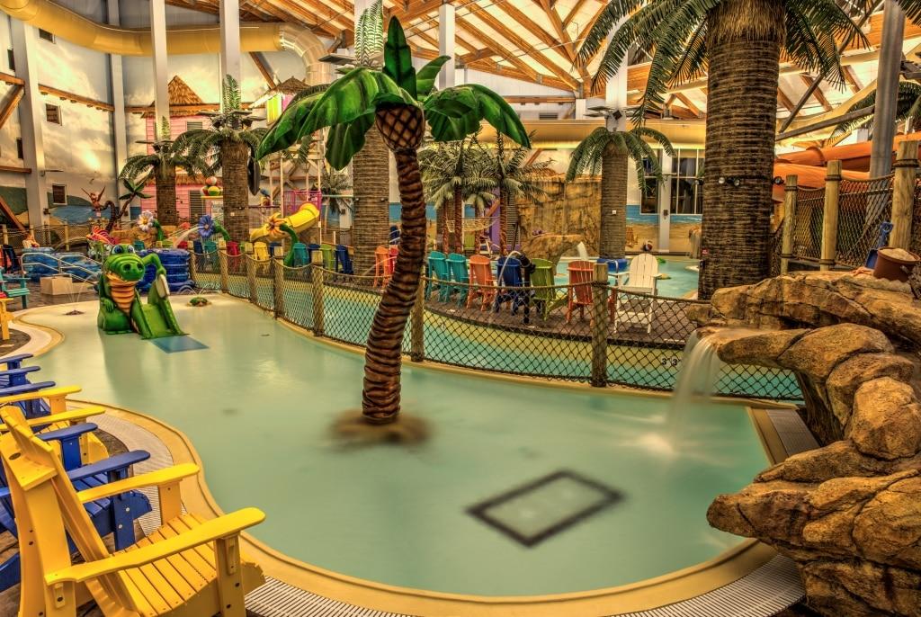 Parrot Cove Water Park Adventures, Indoor Swimming Pool Garden City Ks