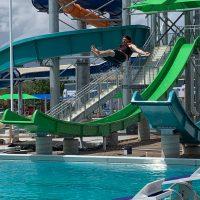 Holli Ayala - Garden Rapids Blue Slide