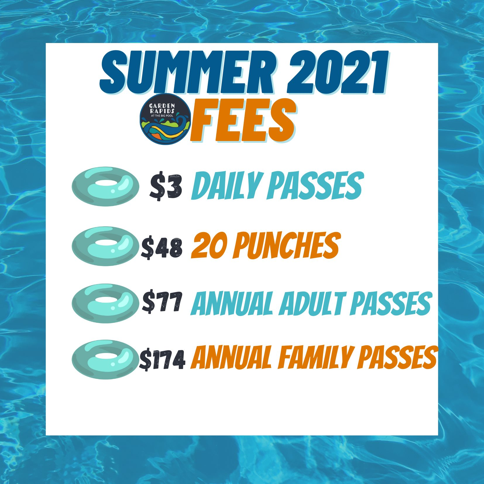 2021 summer pricing